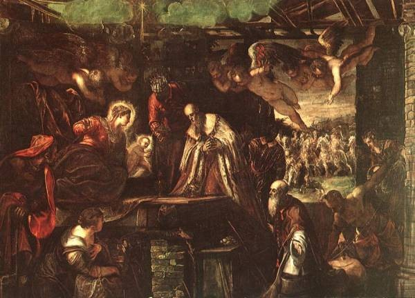 Tintoretto Adoration of the Magi